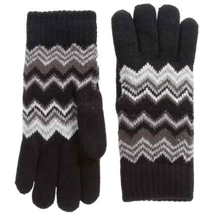 FITS Accessories Chenille-Lined Gloves (For Women) in Black - Closeouts