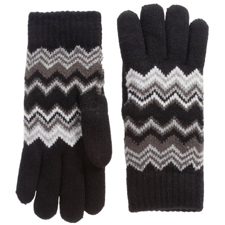 FITS Accessories Chenille-Lined Gloves (For Women) in Black