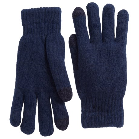 FITS Accessories Chenille-Lined Gloves (For Women) in Navy