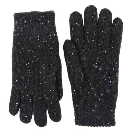 FITS Accessories Fleck Yarn Gloves - Chenille Lined (For Women) in Black - Closeouts
