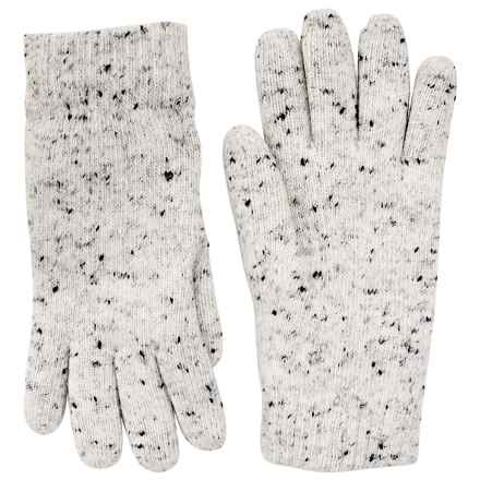 FITS Accessories Fleck Yarn Gloves - Chenille Lined (For Women) in Ivory - Closeouts