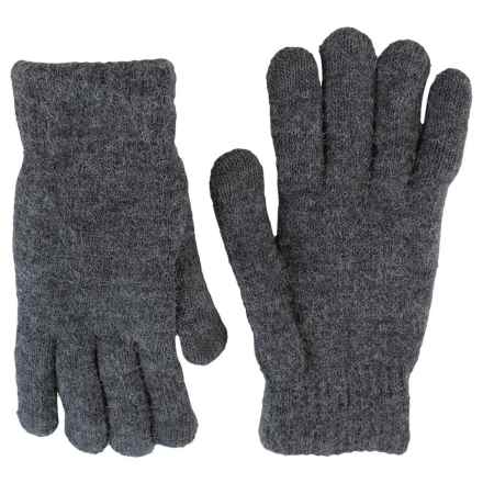 FITS Accessories Knit Chenille Gloves - Touchscreen Compatible (For Women) in Charcoal - Closeouts