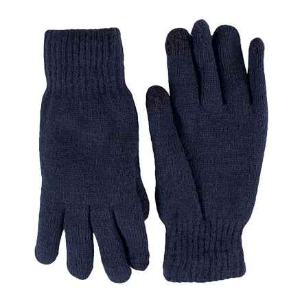 FITS Accessories Knit Chenille Gloves - Touchscreen Compatible (For Women) in Navy - Closeouts