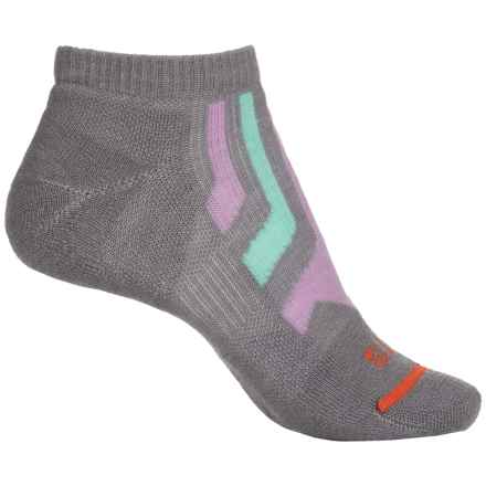 FITS Light Runner Low Socks - Merino Wool, Below the Ankle (For Women) in Titanium / Lavender Herb - Closeouts