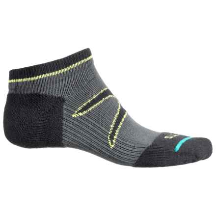 FITS Light Runner Tech Low Socks - CoolMax®, Below the Ankle (For Men and Women) in Pewter-X - Overstock
