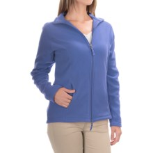 Fitted Fleece Jacket (For Women) in Blue - 2nds