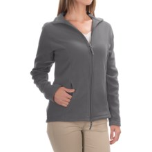 Fitted Fleece Jacket (For Women) in Graphite - 2nds
