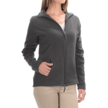 Fitted Fleece Jacket (For Women) in Grey Stone - 2nds