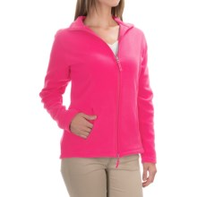 Fitted Fleece Jacket (For Women) in Hot Pink - 2nds