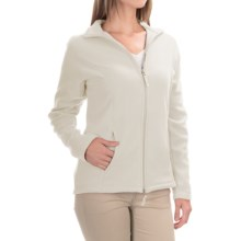Fitted Fleece Jacket (For Women) in White - 2nds