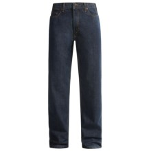 Five-Pocket Denim Jeans - Classic Fit (For Men) in Dark Denim - 2nds