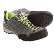Five Ten 2013 Guide Tennie Canvas Trail Shoes (For Men) in Charcoal/Lime - Closeouts