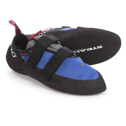 Five Ten Anasazi VCS Climbing Shoes (For Men and Women) in Petroglyph Blue - Closeouts
