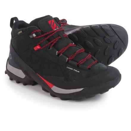 Five Ten Camp Four Gore-Tex® Mid Hiking Boots - Waterproof, Leather (For Men) in Black/Red - Closeouts