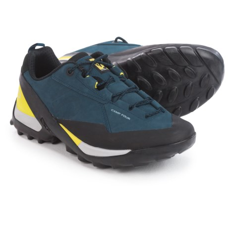 Five Ten Camp Four Hiking Shoes (For Men) in Marine/Citron