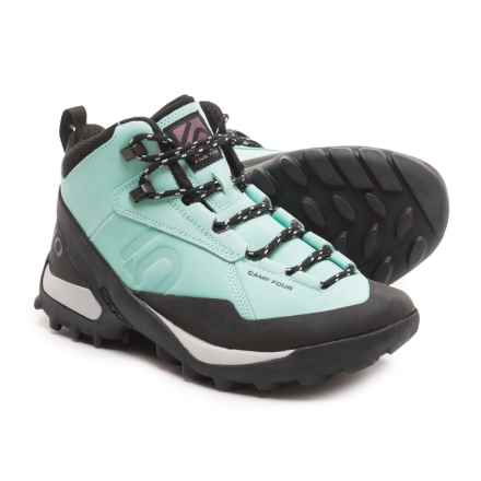 Five Ten Camp Four Mid Hiking Boots (For Women) in Sky Blue - Closeouts