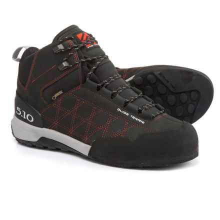 Five Ten Guide Tennie Gore-Tex® Mid Hiking Boots - Waterproof (For Men) in Black/Red - Closeouts