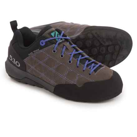 Five Ten Guide Tennie Hiking Shoes (For Women) in Charcoal/Iris - Closeouts