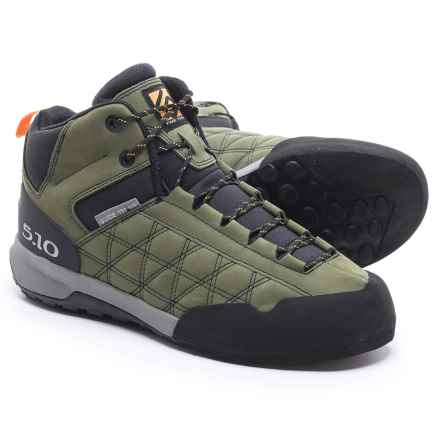 Five Ten Guide Tennie Mid Hiking Boots - Nubuck (For Men) in Base Green - Closeouts
