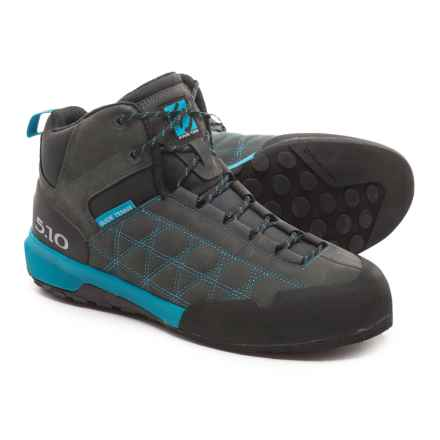 Five Ten Guide Tennie Mid Hiking Boots - Nubuck (For Men) in Caribbean Sea - Closeouts