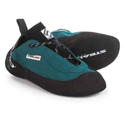 Five Ten Stonelands Lace Climbing Shoes (For Men and Women) in Tech Green - Closeouts