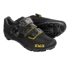 Fizik M3 Uomo Mountain Bike Shoes - SPD, Leather (For Men) in Black - Closeouts