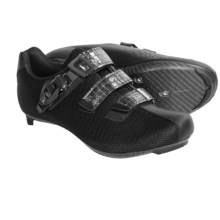 Fizik R3 Donna Road Cycling Shoes - 3-Hole (For Women) in Black - Closeouts