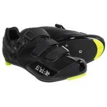 Fizik R5 Donna Road Cycling Shoes - 3-Hole (For Women) in Black - Closeouts