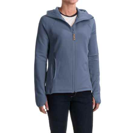 Fjallraven Abisko Fleece Jacket (For Women) in Blueberry - Closeouts