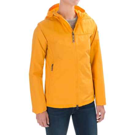 Fjallraven Abisko Hybrid Jacket - UPF 50+ (For Women) in Campfire Yellow - Closeouts