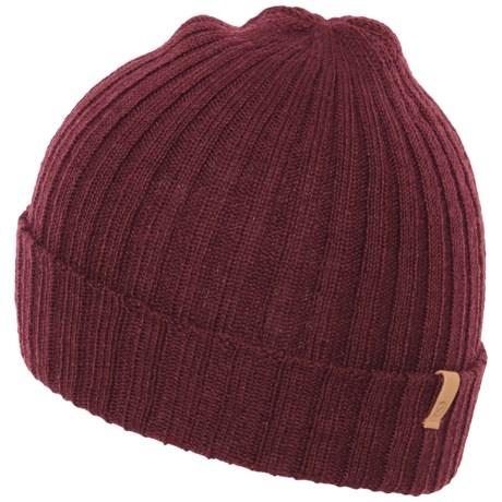 Fjallraven Byron Thin Hat (For Men and Women) in Dark Garnet