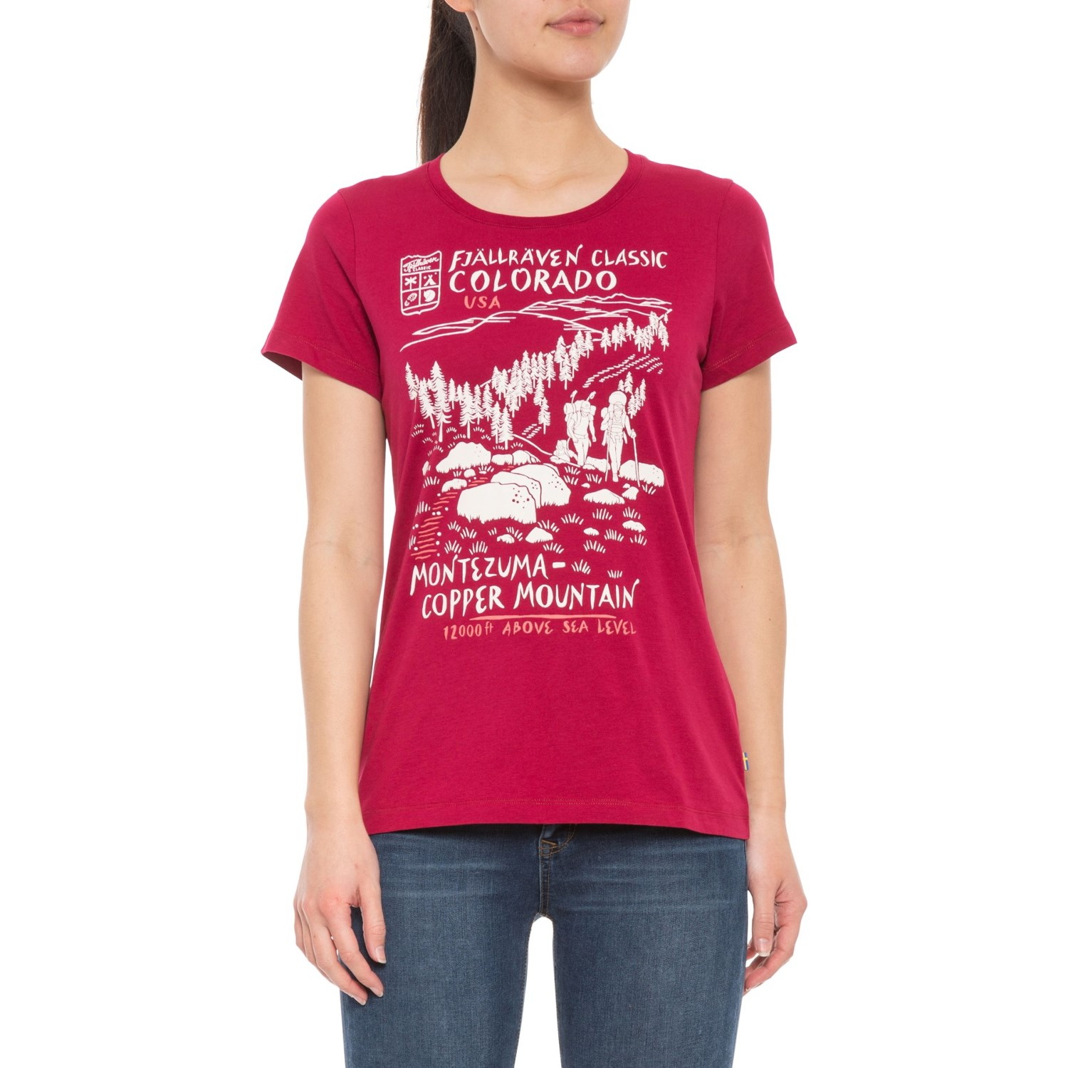 Fjallraven Classic US T-Shirt (For Women) - Save 75%