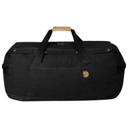 Fjallraven Duffel Bag No. 6 - Large in Black - Closeouts