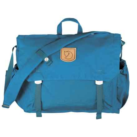 Fjallraven Foldsack No. 2 Messenger Bag in Lake Blue - Closeouts