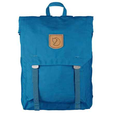 Fjallraven Foldsack No.1 Backpack in Lake Blue - Closeouts