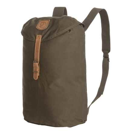 Fjallraven Greenland Backpack - Small in Dark Olive - Closeouts