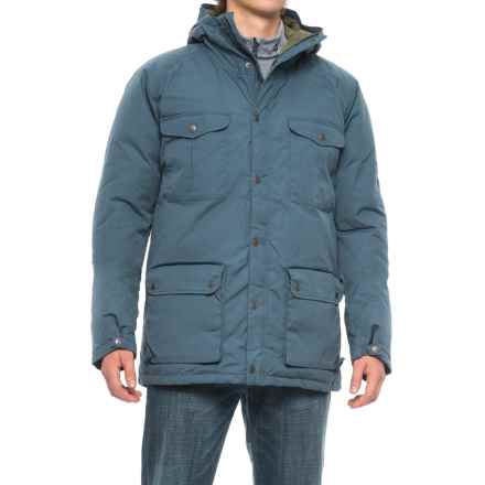 Fjallraven Greenland Down Jacket - 500 Fill Power (For Men) in Uncle Blue - Closeouts