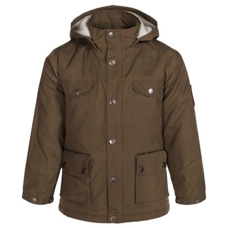 Fjallraven Greenland Jacket (For Little Kids) in Dark Olive