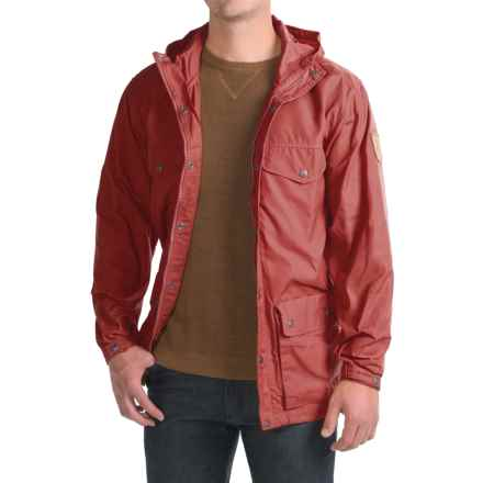 Fjallraven Greenland Jacket (For Men) in Deep Red - Closeouts