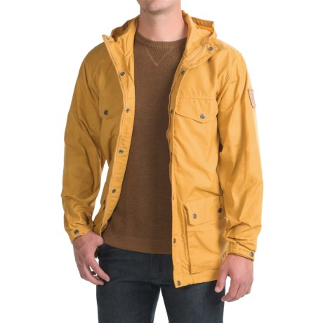Fjallraven Greenland Jacket (For Men) in Ochre