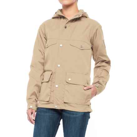 Fjallraven Greenland Jacket (For Women) in Light Beige - Closeouts