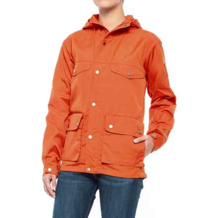 Fjallraven Greenland Jacket (For Women) in Pumpkin - Closeouts