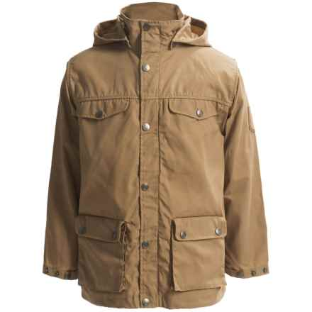 Fjallraven Greenland Jacket - UPF 50+ (For Little Kids) in Sand - Closeouts