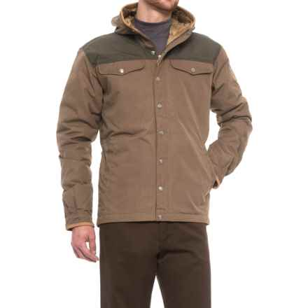 Fjallraven Greenland No. 1 Down Jacket - Insulated (For Men) in Taupe - Closeouts