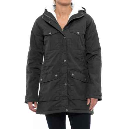 Fjallraven Greenland Winter Parka - UPF 50+, Insulated (For Women) in Black - Closeouts