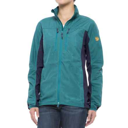 Fjallraven High Coast Hybrid Jacket (For Women) in Copper Green - Closeouts