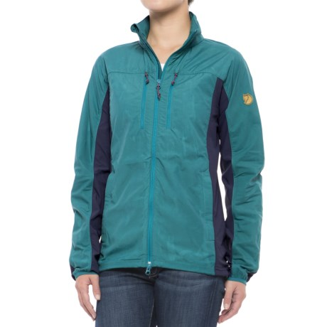 Fjallraven High Coast Hybrid Jacket (For Women) in Copper Green