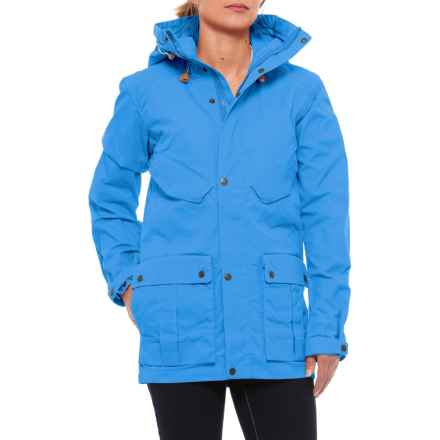 Fjallraven Jacket No. 68 (For Women) in Un Blue - Closeouts