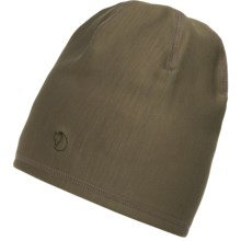Fjallraven Keb Beanie - Fleece Lining (For Men and Women) in Tarmac - Closeouts
