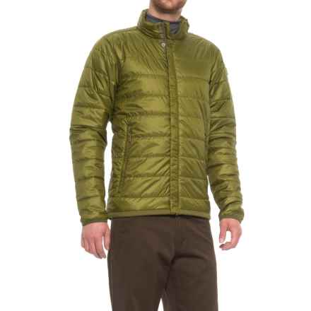 Fjallraven Keb Padded Jacket - Insulated (For Men) in Avocado - Closeouts